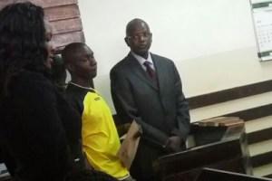 Louis Otieno deaf