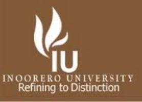 Inoorero University Courses