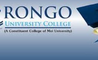 Rongo University college Courses