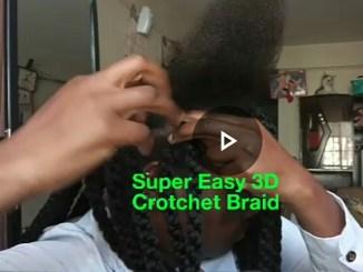 3d crotchet braid