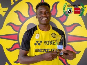 , Micheal Olunga Feted In Japan