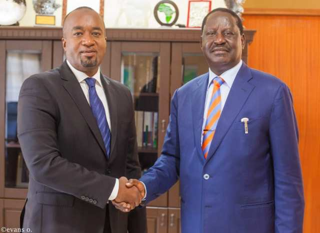 RAILA finally identifies the man who will deputize him in the 2022 presidential contest and you won't believe it – Even UHURU is perplexed by RAILA's enigmatic choice of a running mate