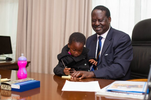 See the only person RAILA demanded to talk to while in Nairobi Hospital after realizing the gravity of his illness
