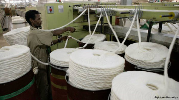 Ethiopia's textile industry has a long tradition - and a great need for modernization