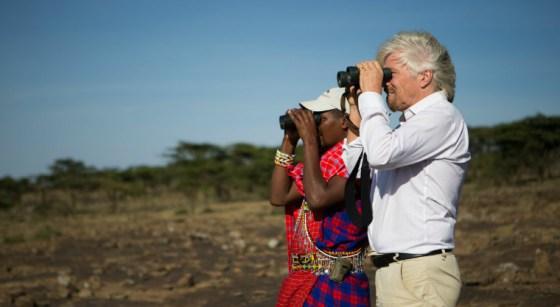 British billionaire Richard Branson. Photo: Stephen Chernin/Getty