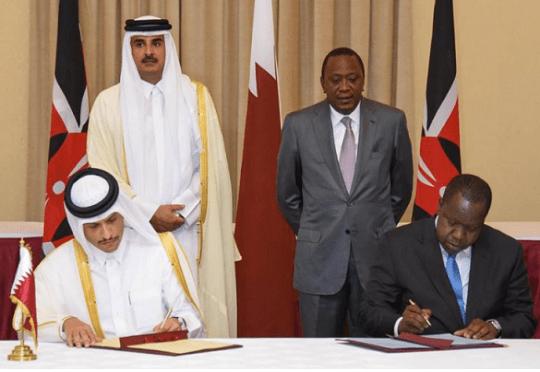 Kenya Qatar cooperation