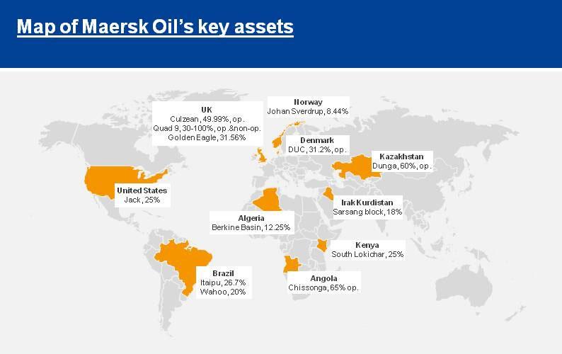 Maersk Oil Assets