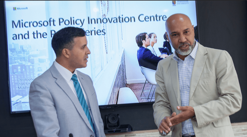 Image result for Microsoft Launches The First Policy Innovation Centre In Africa at Strathmore University