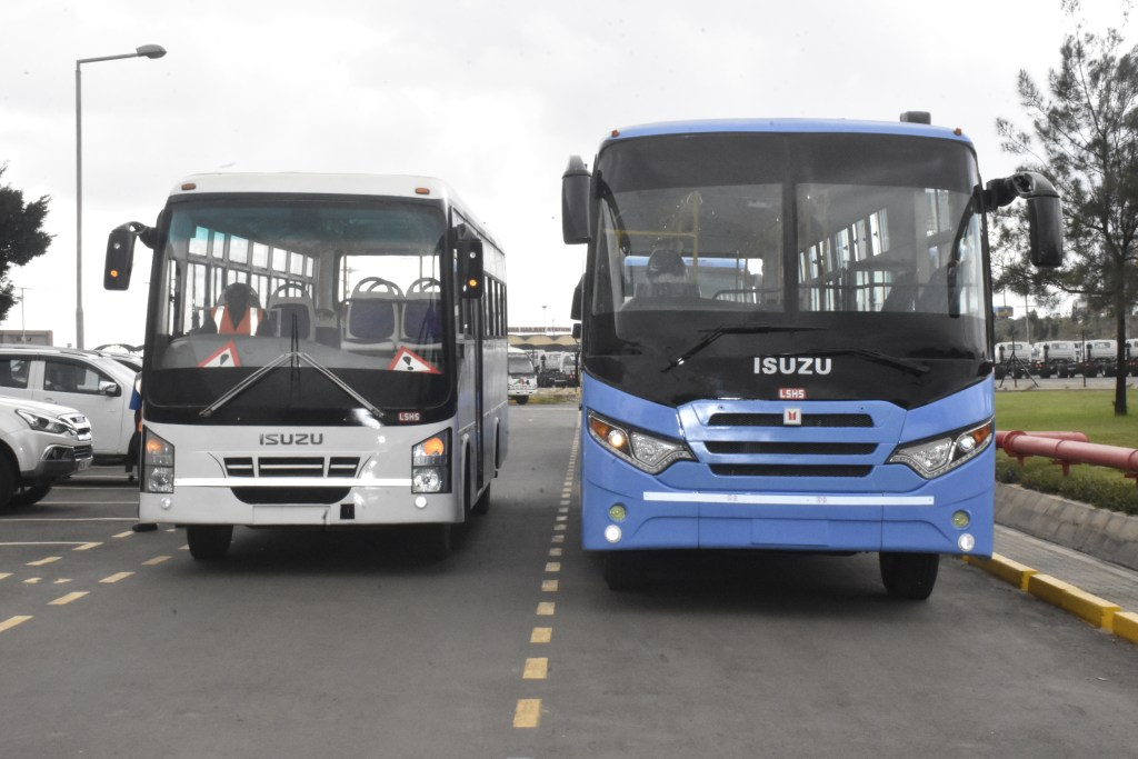 Isuzu Unveils Locally Assembled BRT Buses in Kenya - Kenyan Wallstreet