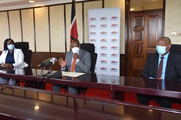 MultiChoice Kenya Donates PPE in the Fight against COVID-19