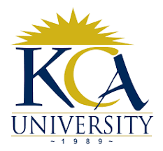 KCA University Application Form