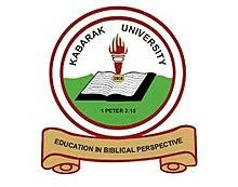 Kabarak University Intake Application Form