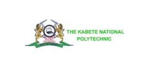 Kabete National Polytechnic Application Form