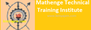 Mathenge Technical Training Institute Intake Application Form