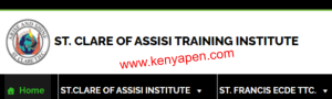 St. Clare of Assisi Training Institute Fees Structure