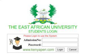 East Africa Centre for Public Speaking Admission Letter