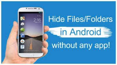 How To Hide Folder On Andriod