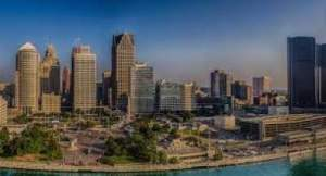 Detroit on the <a  href=