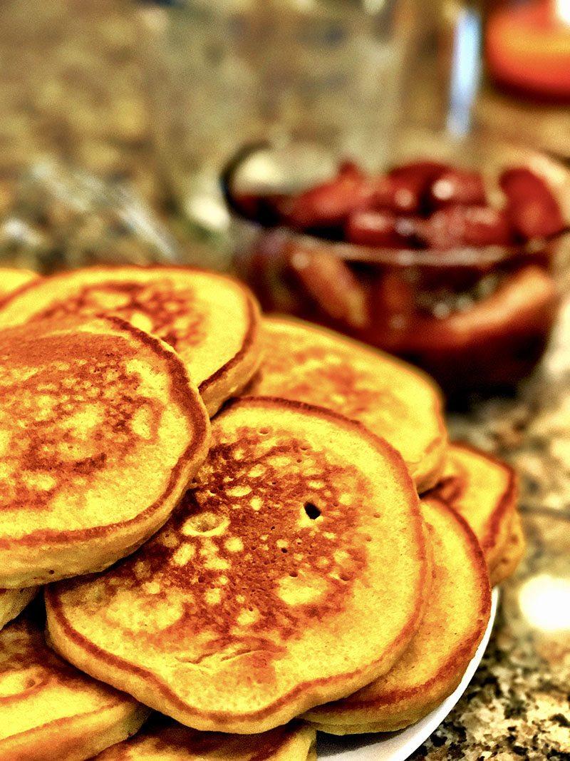 sweet potato pancake breakfast