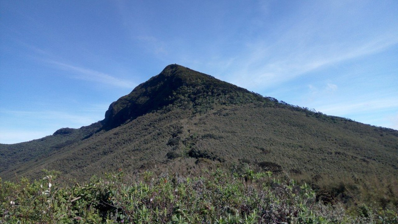 Elephant hill in Aberdare National Park