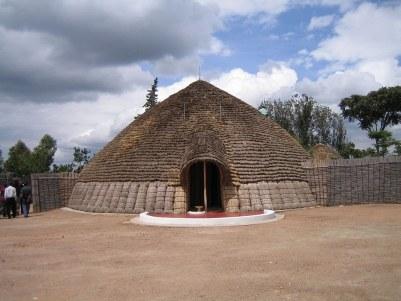 King of Rwanda's palace at Nyanza