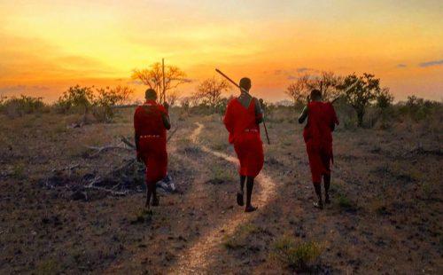 Nature Walking Safar Tsavo East National Park