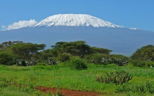 Scenery of Mountain Kilimanjaro.