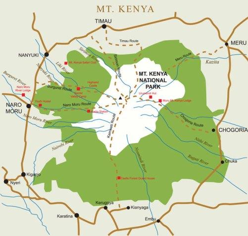 Mount Kenya National Park Kenya