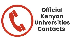 Official Telephone Contacts of Kenyan Universities