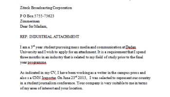 How to get a reference letter from your professor, lecturer | Kenyayote