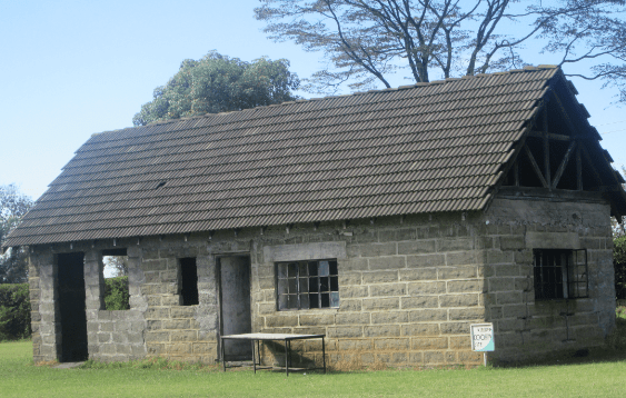 Lord Maurice Egerton first building