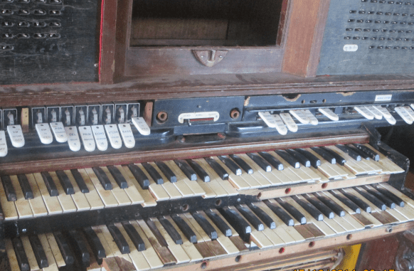 Lord Maurice Egerton's piano