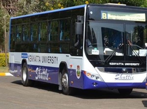 Kenyatta university student shuttle Bus Services