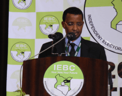 IEBC Chairman Isaack Hassan