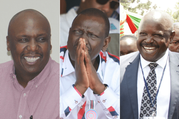 Isaac ruto william ruto gideon moi