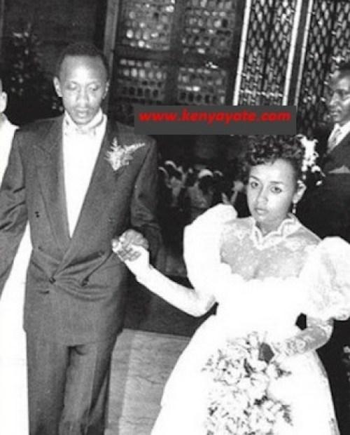 Uhuru weds Margaret Gakuo Kenyatta