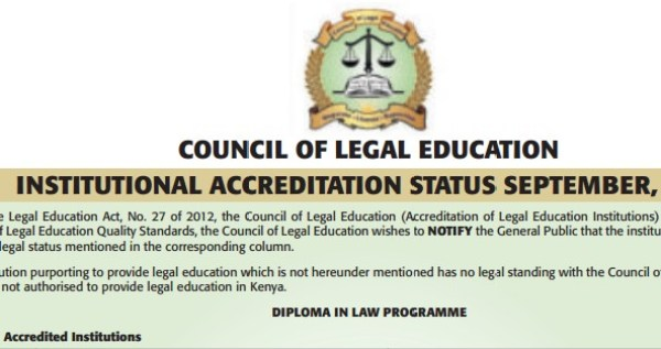 unaccreddited law degree programmes