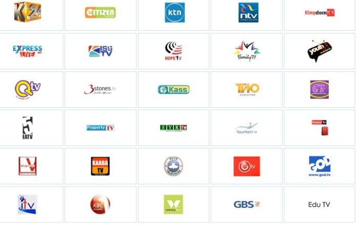 channels in safaricom  decoder