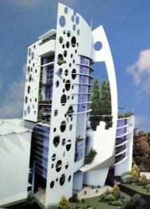 Most beautiful tallest building in Nairobi Kenya