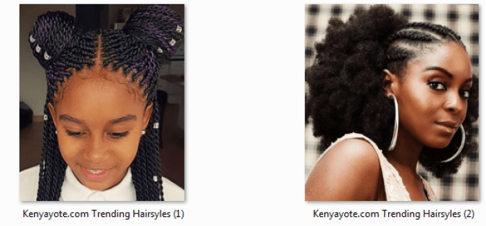 abuja hairstyles in Kenya