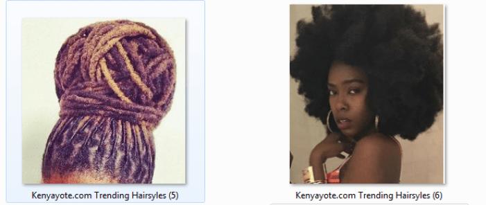 natural hairstyles in kenya