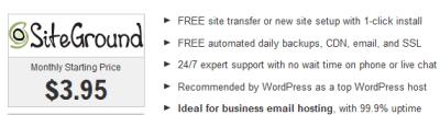 best forum siteground hosting