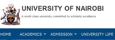 university of nairobi deferment of admission and studies