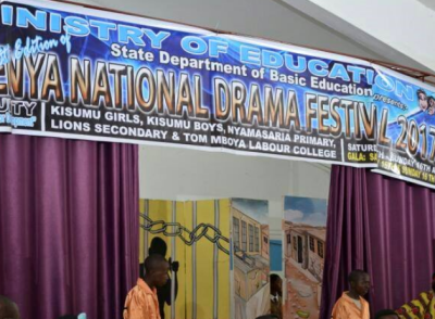 Kisumu 58th edition of Kenya National Drama festival 2017
