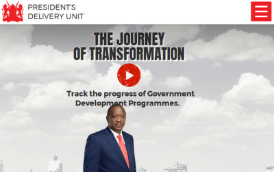 Uhuru  Kenyatta Jubilee government website showcase delivery  projects and  untold stories
