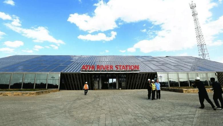 Standard Gauge Rail Way Athi River Station