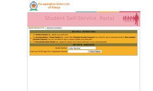 co-operative university of kenya admission letters