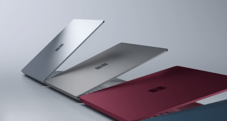 Microsoft surface back and colors