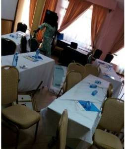 Kisumu Youth Storm Hotel Meeting over ID Buying Allegations