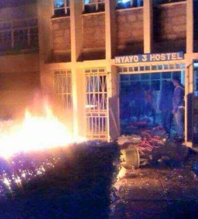 Kenyatta University Indefinitely closed as students protest
